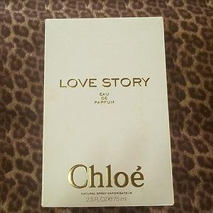 Never used Love Story eau de parfum by Chloe